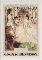 Cognac Hennessy Ami Des Sports Et Des Jeux : 1795 La Draisienne (Robert Bonfils Illustrateur 1933) 1 Siècle De Publicité - Advertising