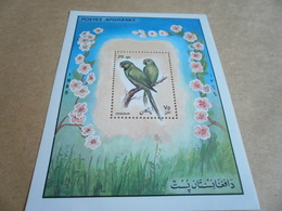 Miniature Sheets Mi: 1452 Perf Parrots 1985 - Afghanistan