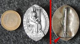 Ancien Insigne Religieux Cathédrale  Clermont-Ferrand : Notre-Dame De Clermont (63) Puy-de-Dôme (éditeur PLANCHOT) - Religion & Esotericism