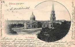 CPA ODESSA - La Cathédrale - Russia