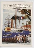 Cognac Hennessy Depuis 1765 A Travers Le Monde - Les Vapeurs 1860 Disputeront Aux Voiliers.. (1 Siécle De Publicité 1933 - Advertising