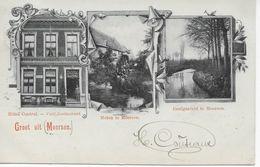 1 Ansichtkaart 1902 - Groet Uit Meersen Hotel Central - Molen - Geulgezicht Te Meers(s)en - Maastricht