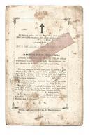 D 780. ARNOLDUS MOONS - °BEVERLOO 1796 En Aldaar + 1870 - Devotion Images