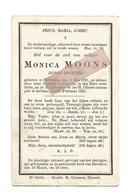 D 781. MONICA MOONS - Jonge Dochter - °BEVERLOO 1821 En Aldaar + 1891 - Devotion Images