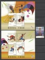 Guyana - Limited Edition Set 21 MNH - SUMMER OLYMPICS SEOUL 1988 - Zomer 1988: Seoel