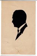 1924 - Silhouette - Silhouettes Découpées - Circulée - 2 Scans - Silhouette - Scissor-type