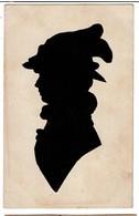 C1910 - Silhouette Femme - Silhouettes Découpées - 2 Scans - Silhouettes