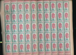 RUANDDA URUNDI 1948 ISSUE COB 286 SHEET MNH - Feuilles Complètes