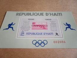 Miniature Sheets Haiti 1969 Olympic Games Locations & Winners Perf X 2 - Haiti