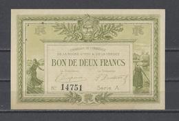 Chambre De Commerce De La ROCHE SUR YON  Billet De 2.00F - Handelskammer