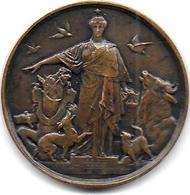 Société Protectrice Des Animaux - Médaille Attribuée En 1916 - France