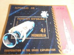Miniature Sheets 1972 Mongolia Apollo16 - Mongolia