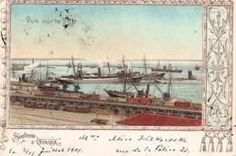 CPA SOUVENIR D' ODESSA - Vue Sur Le Port - Russia