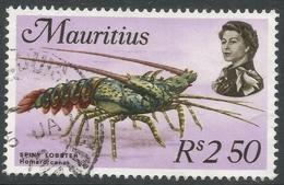 Mauritius. 1969 Sealife. 2r50 Used. SG 452 - Mauritius (1968-...)