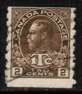 CANADA  Scott # MR 7 F-VF USED COIL (Stamp Scan # 510) - Usados