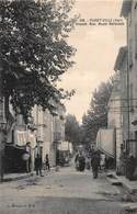 CPA PUGET-VILLE ( Var ) - Grande Rue. Route Nationale - Francia