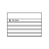 Leuchtturm Steckkarten Mit Schutzblatt 100 St. 5 Streifen (210x148) Neu (325551 - Briefmarken