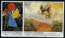 Antigua Und Barbuda MiNr. Block 126-27 Postfrisch MNH Kunst (NA71 - Antigua And Barbuda (1981-...)