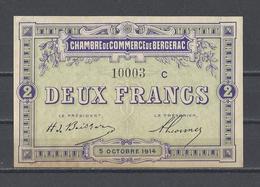 Chambre De Commerce De BERGERAC  Billet De 2.00F - Chamber Of Commerce