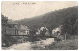 TROIS PONTS 1910 Vallée De La SALM Animée Enfants Pont Métallique Pour Piétons - Ed. Société Coopérative Saint Antoine - Trois-Ponts