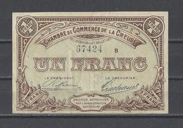 Chambre De Commerce De La CREUSE  Billet De 1.00F - Chamber Of Commerce