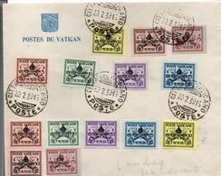 Sede Vacante 1939 - Vatican Vaticano - Pie XI Pie XII - Lettres & Documents