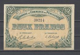 Chambre De Commerce De PERIGUEUX  Billet De 2.00F - Cámara De Comercio