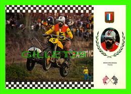 SPORTS MOTO - BERNARD BRODU, FRANCIA - SERIE SIDE CROSS No 1 -TRIUMPH 195 KG, 62 C.V. - - Sport Moto