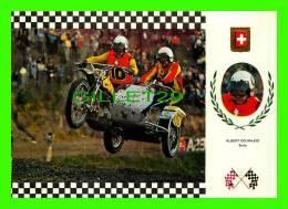 SPORTS MOTO-  No 3 SERIE SIDE CROSS - ALBERT COURAJOD (SUISSE) - MOTO, TRIUMPH (INGLESA) 195 Kg, 62 C.V. - - Sport Moto