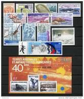 TAAF;FSAT;1995;année Complète; TP N° 194 à 202 + PA N°134 à 136;NEUFS**;MNH - Full Years