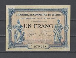 Chambre De Commerce De DIJON  Billet De 1.00F - Chamber Of Commerce