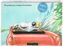 ILLUSTRATEUR  LOUIS CARRIERE NE PROTESTE PAS  JE  RESPECTE  LES  PANNEAUX  N°50338  CPM  TBE  PH208 - Carrière, Louis