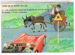 ILLUSTRATEUR  LOUIS  CARRIERE  LE  CONDUCTEUR  VENANT  PAR LA GAUCHE...     N°50338 CPM TBE PH251 - Carrière, Louis