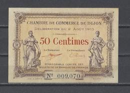 Chambre De Commerce De DIJON  Billet De 50c - Chamber Of Commerce
