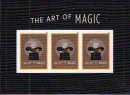 USA , 2018, MNH,  ART, MAGIC, RABBITS,LENTICULAR S/SHEET - Arts