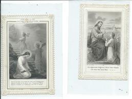 2 Images Pieuses-Enseignez Moi Seigneur Et Les Trois Degrés De La Conformité Parfaite - Devotion Images