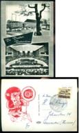Nederland 1966 Ansichtkaart De Doelen Rotterdam Nationale Lions Conferentie Speciaal Stempel - Rotterdam