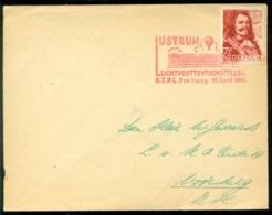 "Nederland 1944 Brief Naar Voorburg ZH Met Speciaal Stempel ""Luchtposttentoonstelling"" - 1891-1948 (Wilhelmine)"