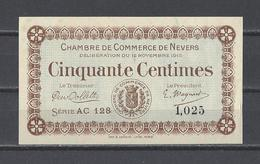 Chambre De Commerce De NEVERS  Billet De 50c - Chamber Of Commerce