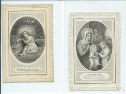 2 Images Pieuses-Venez,Seigneur,Venez Et Dieu Avec Nous - Devotion Images