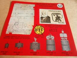 Miniature Sheets Block 278 Alexander Graham Bell - Paraguay