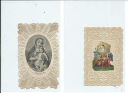 2 Images Pieuses-canivets - Devotion Images