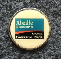Jeton De Caddie Métal - Abeille Assurances - Simple Face - Moneda Carro