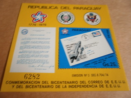 Miniature Sheets Paraguay Independence - Paraguay