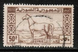 SYRIA  Scott # 325 VF USED (Stamp Scan # 510) - Syria