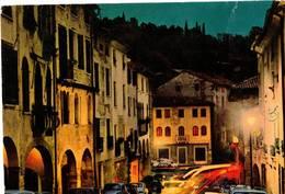 CITTA' DI ASOLO - NOTTURNO IN VIA REGINA CORNARO (TV) - Treviso