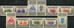 Nicaragua 1946. Michel #938/48 MNH/Luxe. President F. D. Roosevelt. (Ts16) - Celebrità