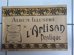 CATALOGUE J.NICOLAS AINE ALBUM ILLUSTRE DE L'ARTISAN PRATIQUE ART NOUVEAU 1912 - Livres, BD, Revues