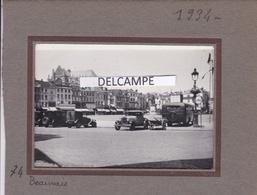 BEAUVAIS  1934 - Photo Originale De La Place ( Oise ) - Places