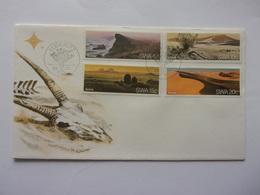 SWA Afrique Désert Du Namib Landscape Sand Dunes Sossusvlei Plaine De Brandberg Pomona - Geology